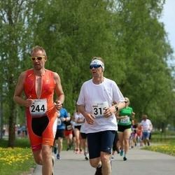 48. jooks ümber Harku järve - Asko Drobet (244), Kaido Karussaar (312)