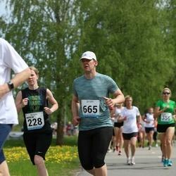 48. jooks ümber Harku järve - Avo Rõõmussaar (665)