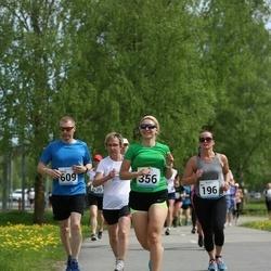48. jooks ümber Harku järve - Ele Ots (196), Julia Loginova (356), Sergei Vlassov (609)