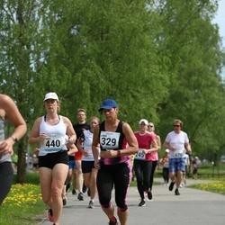 48. jooks ümber Harku järve - Linda Krimm (329), Maria Pernits (440)