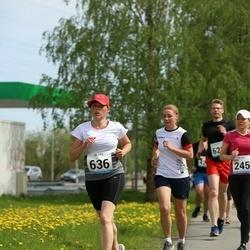 48. jooks ümber Harku järve - Grethe Grünberg (636)