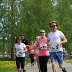 48. jooks ümber Harku järve - Karina Dalibuk (243), Meelis Kitsing (670)