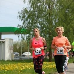 48. jooks ümber Harku järve - Irja Närep (423), Tiina Sinijärv (538)