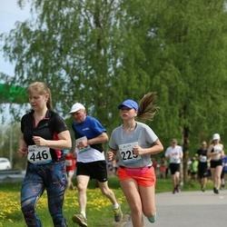 48. jooks ümber Harku järve - Iti Aasmäe (225), Kaisa Pihla (446)