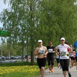 48. jooks ümber Harku järve - Kristina Nogteva (418), Grete-Geteli Võõsa (700)