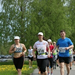 48. jooks ümber Harku järve - Kristina Nogteva (418), Jevgeni Starsinov (617), Grete-Geteli Võõsa (700)