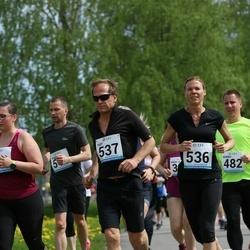 48. jooks ümber Harku järve - Riia Sillave (536), Teet Sillave (537)