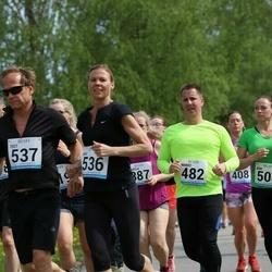 48. jooks ümber Harku järve - Marko Raudsepp (482), Riia Sillave (536)