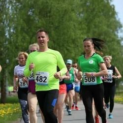 48. jooks ümber Harku järve - Marko Raudsepp (482), Aire Rosik (508)