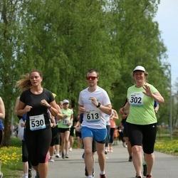 48. jooks ümber Harku järve - Krista Kallas (302), Karin Salu (530), Risto Väljak (613)