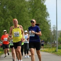 48. jooks ümber Harku järve - Peeter Koržets (326), Heli Säde (553)