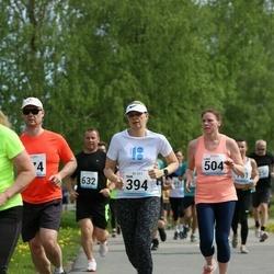 48. jooks ümber Harku järve - Triin Muld (394), Liina Roosimägi (504)