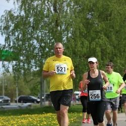 48. jooks ümber Harku järve - Triinu Gross (256), Jaanus Saar (521)