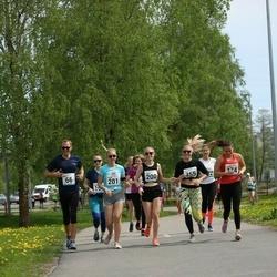 48. jooks ümber Harku järve - Laura Luks (200), Laura Korjus (201), Caspar Janter (274), Merili Lellep (355)