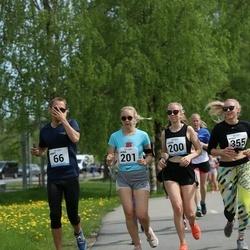 48. jooks ümber Harku järve - Marti Vaksmann (66), Laura Luks (200), Laura Korjus (201)