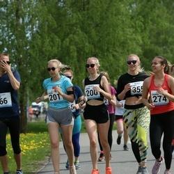 48. jooks ümber Harku järve - Laura Luks (200), Laura Korjus (201)