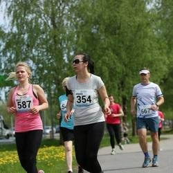 48. jooks ümber Harku järve - Dinara Leit (354)