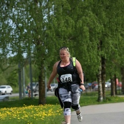 48. jooks ümber Harku järve - Katrin Lanina (348)
