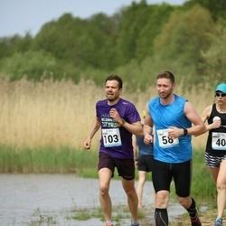 48. jooks ümber Harku järve - Tõnis Trummal (58), Alger Ers (103)