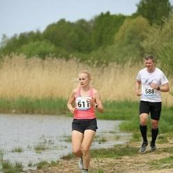 48. jooks ümber Harku järve - Tanel Vahtra (588), Jana Väli (611)