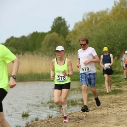 48. jooks ümber Harku järve - Ingrid Treu (578), Meelis Kitsing (670)
