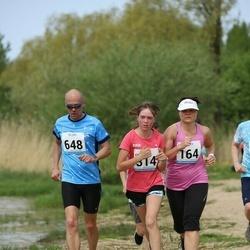 48. jooks ümber Harku järve - Ruth Trääder (164), Alan Vaht (648)