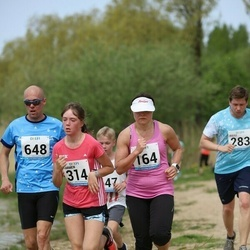 48. jooks ümber Harku järve - Ruth Trääder (164), Carmen Kazantseva (314)