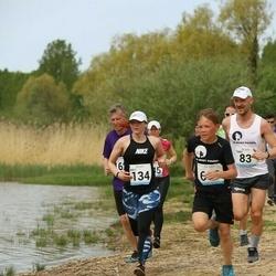48. jooks ümber Harku järve - Raili Hurt (134)