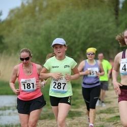 48. jooks ümber Harku järve - Triinu Suur (181), Gerda Kadak (287)