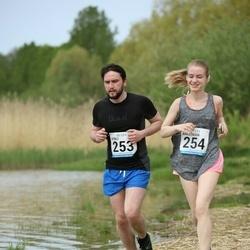 48. jooks ümber Harku järve - Vitali Galitskihh (253), Anastasiia Galitskihh (254)