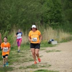 48. jooks ümber Harku järve - Vilma Trummal (203)