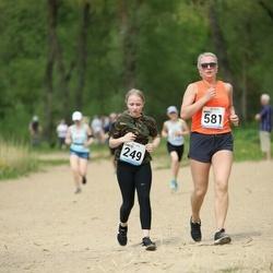 48. jooks ümber Harku järve - Lisete Elenurm (249), Madli Tuvikene (581)