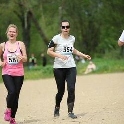 48. jooks ümber Harku järve - Dinara Leit (354), Sirja Vadi (587)
