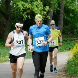 48. jooks ümber Harku järve - Oliver Kulbas (333), Aare Kutsar (337)