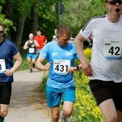 48. jooks ümber Harku järve - Jaak Metsamaa (63), Aigor Paas (431)