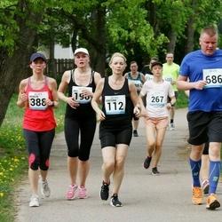 48. jooks ümber Harku järve - Kristiina Ranne (112), Aali Lilleorg (190), Merilyn Meristo (388), Ove Siiro (686)