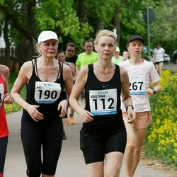48. jooks ümber Harku järve - Kristiina Ranne (112), Aali Lilleorg (190), Merilyn Meristo (388)