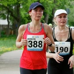 48. jooks ümber Harku järve - Aali Lilleorg (190), Merilyn Meristo (388)