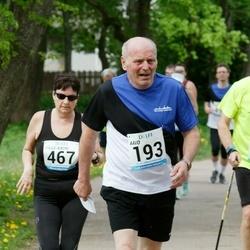 48. jooks ümber Harku järve - Aavo Halling (193), Pille-Kadri Pärna (467)