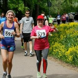 48. jooks ümber Harku järve - Anna Tsysina (579), Irina Varlamova (592)