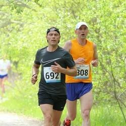 48. jooks ümber Harku järve - Tanel Kannel (308), Rainer Virve (692)