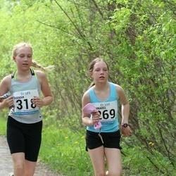48. jooks ümber Harku järve - Annabel Jaagomägi (269), Hanna Kirsipuu (318)