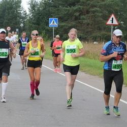 Narva Energiajooks - Viktor Pähklamäe (499), Jaana Kupp (590), Aare Toomist (882)
