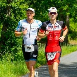 IRONMAN 70.3 Otepää - Marti Alt (178), Andre Pukk (708)
