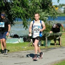 Pärnumaa Võidupüha maraton - Andre Valkman (41), Chris Lloyd (420)