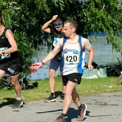 Pärnumaa Võidupüha maraton - Chris Lloyd (420), Kristjan Tulp (489)