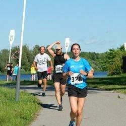 Pärnumaa Võidupüha maraton - Annika Meos (328), Priit Lopsik (387)