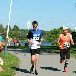 Pärnumaa Võidupüha maraton - Andre Lomaka (127), Heilo Järve (384)