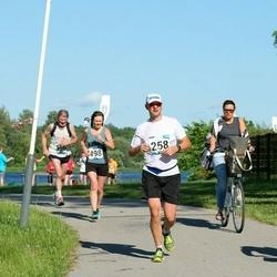 Pärnumaa Võidupüha maraton - Kaido Koppel (258), Juhan Änilane (356), Anneli Vilu (498)