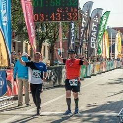 Pärnumaa Võidupüha maraton - Robert Kitt (308), Vitali Hohlov (450)